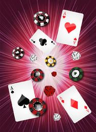 Background Casino com o jogo Objects