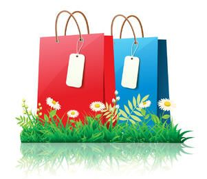 Fresh Spring Time Shopping with Daisies