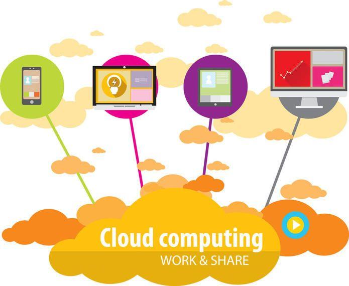 Modern Technology Communication Infographic