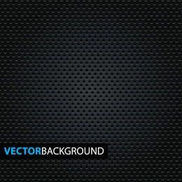Micro patrón de puntos sobre fondo negro