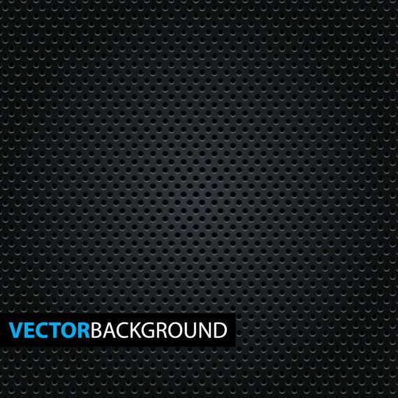 Micro Dotted Pattern on Black Background