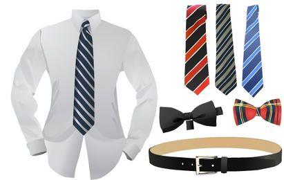 Set of business fashion