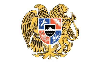 Armería armenia vector heráldica