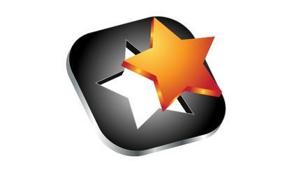 Ícone de vetor de estrela 3d
