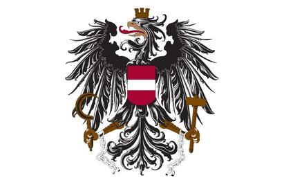 Armories free vector - Latvian flag