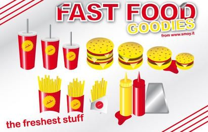 Golosinas de comida rápida