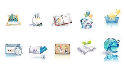 Iconos de negocios 3