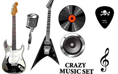 Conjunto de equipamento musical