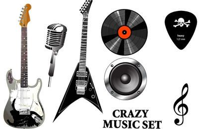 Musical Equipment Set