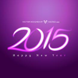 Tipografía Creative Purple Light 2015
