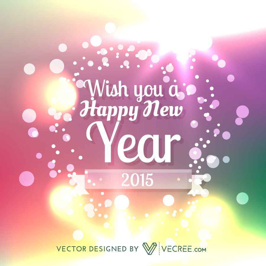 New year greetings on shiny colorful bokeh background vector download new year greetings on shiny colorful bokeh background download large image 900x900px m4hsunfo