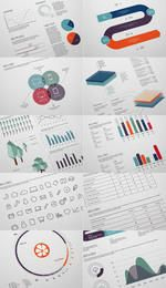 Elegant Infographic Design Pack