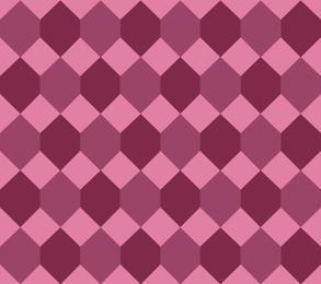 Seamless Diamond Pink Maroon Pattern