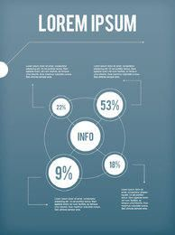 White Circular Infographic Layout