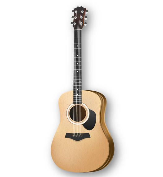 Acoustic Wooden Body Music Guitar