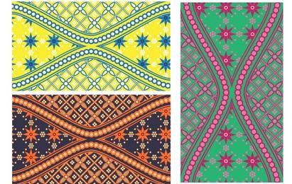 Batik es hermoso Swatch