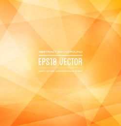 Classic Orange Triangular Texture Background