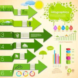 Green Ecology Infographic Pack
