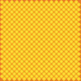 Yellow Orange Seamless Diamond Pattern