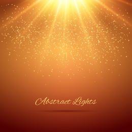 Fundo brilhante de brilho do sol