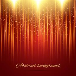Shiny Gold Glitters Abstract Background