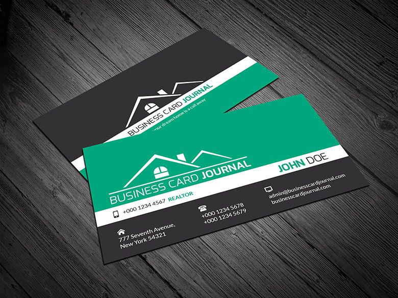 Creative Real Estate Business Card Vector Download