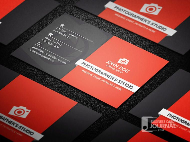 Creative professional photography business card vector download creative professional photography business card reheart Choice Image