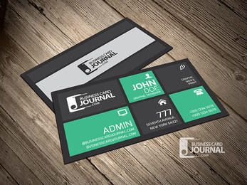 Beautiful Modern Corporate Business Card