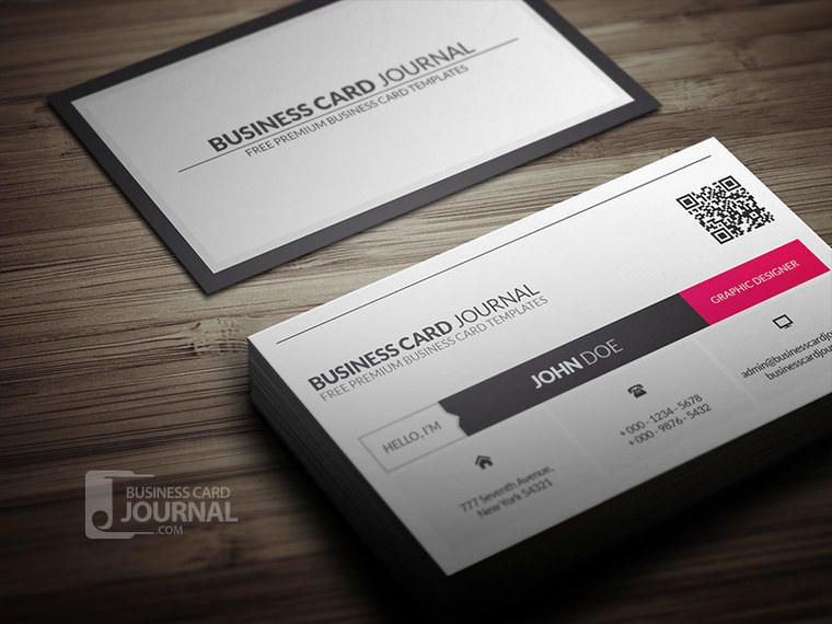 Qr code corporate business card vector download qr code corporate business card reheart Image collections