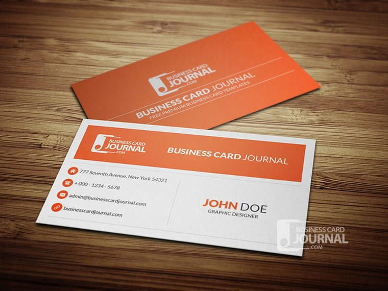 Minimal style corporate business card vector download minimal style corporate business card reheart Choice Image