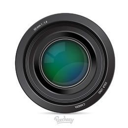 Glossy Realistic DSLR Camera Lens