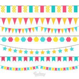 Minimal Colorful Celebration Decoration Pack