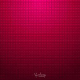 Textura de quadrados cúbicos rosa brilhante