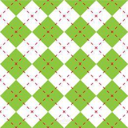 Grünes Diamant-Karo-nahtloses Muster