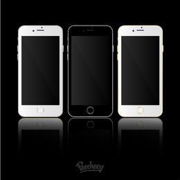 Plantillas iPhone 6 Maqueta