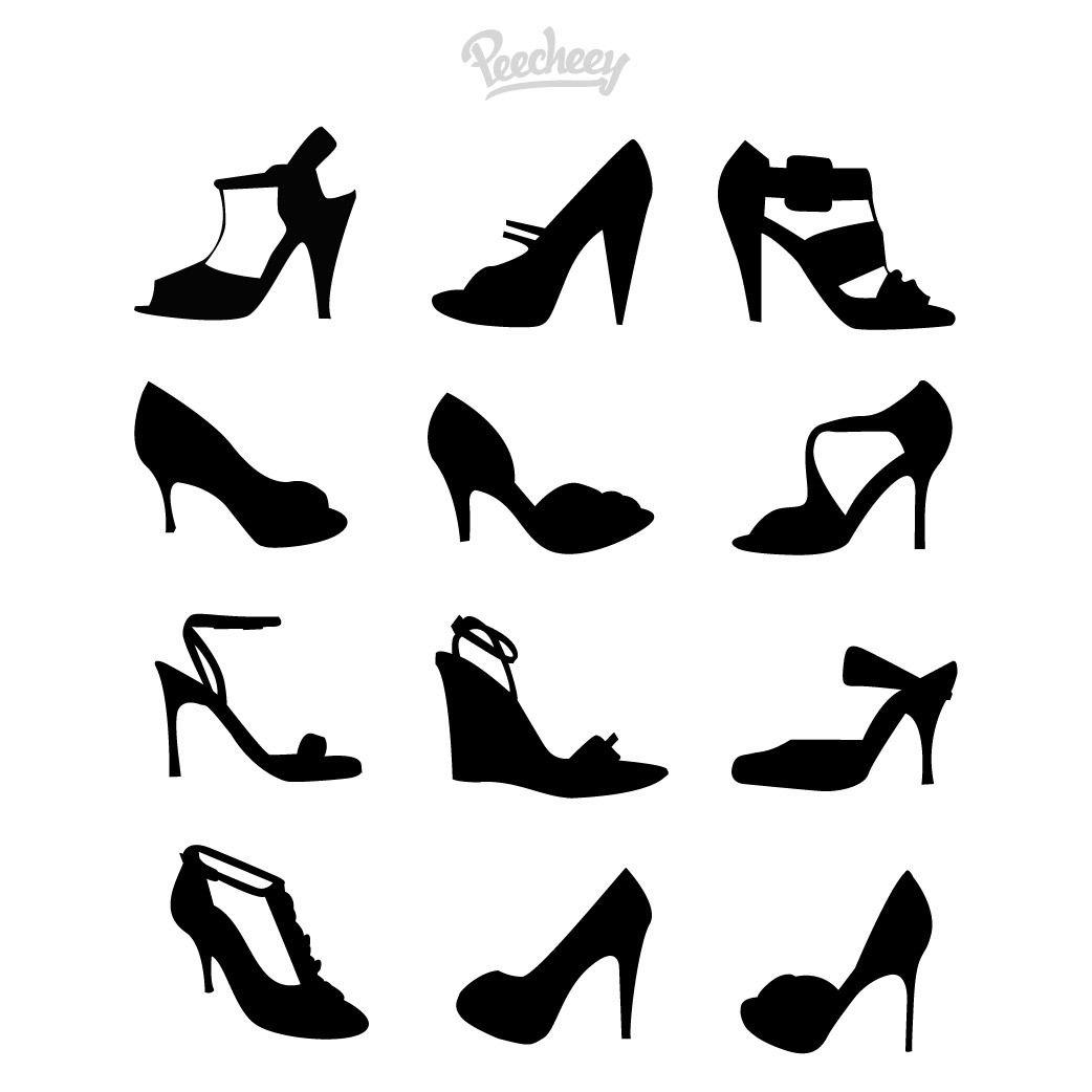 Black Strap Stiletto Goth Shoe Pics