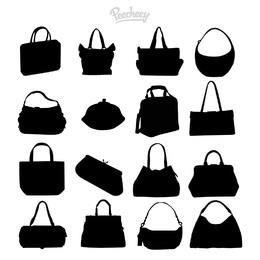 Paquete de piezas de moda para mujer silueta