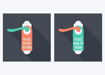 Door Handle Do Not Disturb Tags