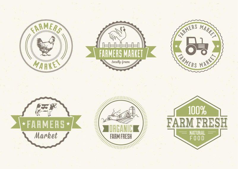 Farmers Market Label Pack