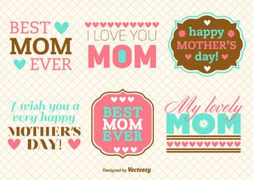 Mother's Day Vintage Message Pack