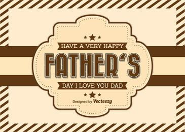 Father?s Day Vintage Greeting Card