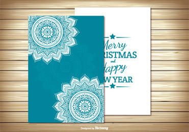 Two Parts Christmas Card
