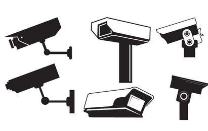 CCTV cámara de gráficos vectoriales