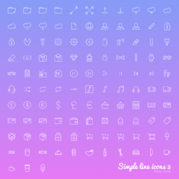 Linear Web & UI Icon Set