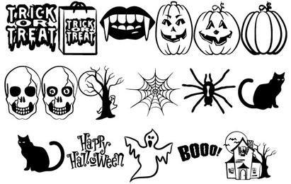 Halloween Vectors Part 2