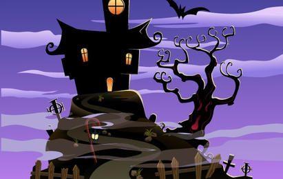 Casa Assustadora Halloween
