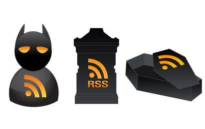 3 iconos RSS de Halloween