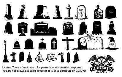 Pack de lápidas