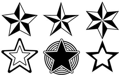 Stars Outlines Collection