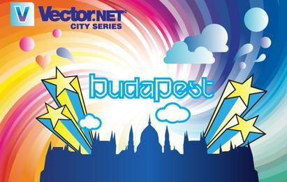 Vector de la ciudad de budapest
